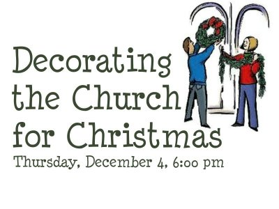 Plain People Decorating Church For Christmas 2014 H With Ideas